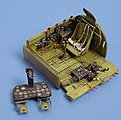 P47N Cockpit Set For an Academy Model -- Plastic Model Aircraft Accessory -- 1/48 Scale -- #4011
