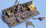 Ju87B2 Stuka Cockpit Set For a Hasegawa Model -- Plastic Model Aircraft Accessory -- 1/48 -- #4026
