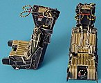 F14 MB Mk GRU 7A Ejection Seats -- Plastic Model Aircraft Accessory -- 1/48 Scale -- #4143
