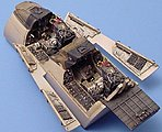 F14B Cockpit Set For a Hasegawa Model -- Plastic Model Aircraft Accessory -- 1/48 Scale -- #4149
