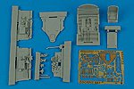 P47D Cockpit Set For a Tamiya Model -- Plastic Model Aircraft Accessory -- 1/48 Scale -- #4465