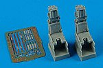 SJU17 Ejection Seats For F14D/F18F -- Plastic Model Aircraft Accessory -- 1/72 Scale -- #7275