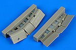 F4U1 Corsair Flaps For a Tamiya Model -- Plastic Model Aircraft Accessory -- 1/72 Scale -- #7303