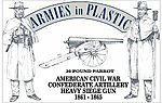American Civil War Confederate Artillery -- Plastic Model Military Figure -- 1/32 Scale -- #5502