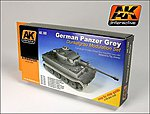 German Panzer Grey Modulation Acrylic -- Hobby and Model Paint Set -- #160