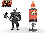 Black Acrylic Primer 60ml Bottle -- Hobby and Model Acrylic Paint -- #178