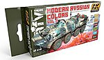 Modern Russian Vol.2 Acrylic Paint -- Hobby and Model Paint Set -- #4140