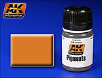 Light Rust Pigment 35ml Bottle -- Model Paint Pigment -- #44