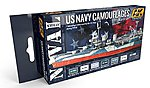 US Navy Camouflages Acrylic Paint -- Hobby and Model Paint Set -- #5000