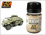 DAK Vehicle Wash Enamel Paint 35ml Bottle -- Hobby and Model Enamel Paint -- #66