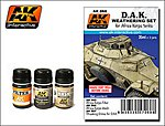 DAK Africa Korps Tanks Enamel Paint (65, 66, 67) -- Hobby and Model Paint Set -- #68