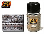 Engine Grime Enamel Paint 35ml Bottle -- Hobby and Model Enamel Paint -- #82