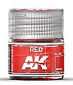 Real Colors- Red Acrylic Lacquer Paint 10ml Bottle