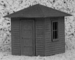 Jennysville Shanty -- HO Scale Model Railroad Building -- #102