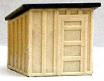 Small Shanty (2) (Can use with #104) -- HO Scale Model Railroad Building -- #117
