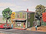 Springfield Cafe Kit -- HO Scale Model Railroad Building -- #136