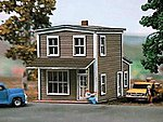 Springfield Cafe Kit -- N Scale Model Railroad Building -- #636