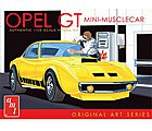 Opel GT Car (White) -- Plastic Model Car Kit -- 1/25 Scale -- #729