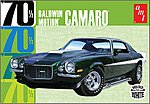 1970 CHEVY CAMARO Dark Green -- Plastic Model Car Truck Vehicle Kit -- 1/25 Scale -- #855