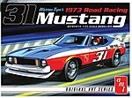1/25 1973 Ford Mustang Race Car (Warren Tope) -- Plastic Model Car Kit -- 1/25 Scale -- #896