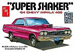 1964 Chevy Impala 409 Super Shaker Car -- Plastic Model Car Truck Vehicle -- 1/25 Scale -- #917