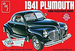 1941 Plymouth Coupe -- Plastic Model Car Kit -- 1/25 Scale -- #919