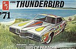 1971 Ford Thunderbird Car -- Plastic Model Car Kit -- 1/25 Scale -- #920