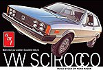 VW Scirocco Sports Car -- Plastic Model Car Kit -- 1/25 Scale -- #925