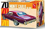 1970 Chevy Monte Carlo -- Plastic Model Car Kit -- 1/25 Scale -- #928