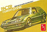 1977 AMC Pacer Wagon -- Plastic Model Car Kit -- 1/25 Scale -- #1008-12