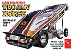 Trojan Horse 1975 Mustang Funny Car -- Plastic Model Car Kit -- 1/25 Scale -- #1009-12