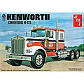 Kenworth W925 Conventional Semi Tractor -- Plastic Model Truck Kit -- 1/25 Scale -- #1021