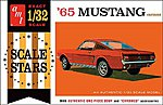 1965 Ford Mustang Fastback -- Plastic Model Car Kit -- 1/32 Scale -- #1042-12