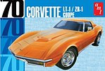 1970 Chevy Corvette Coupe -- Plastic Model Car Kit -- 1/25 Scale -- #1097-12