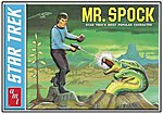 Mr SPOCK LtdEd Tin -- Plastic Model Figure Kit -- 1/12 Scale -- #624