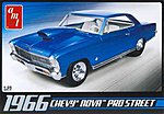 1966 Chevy Nova Pro Street -- Plastic Model Car Kit -- 1/25 Scale -- #636