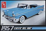 1957 Bel Air -- Plastic Model Car Kit -- 1/25 Scale -- #638