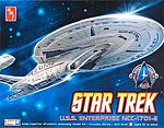 Star Trek Enterprise 1701-E -- Plastic Model Spaceship Kit -- 1/2500 Scale -- #663l