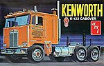 Kenworth K123 Cabover -- Plastic Model Truck Kit -- 1/25 Scale -- #687