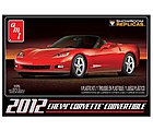 2012 Chevy Corvette Convertible -- Plastic Model Car Kit -- 1/25 Scale -- #733