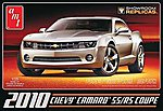 2010 Chevy Camaro Showroom Replica -- Plastic Model Car Kit -- 1/25 Scale -- #742