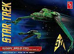 Star Trek Klingon Bird of Prey -- Plastic Model Spaceship Kit -- 1/350 Scale -- #949-12