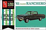 1961 Ford Ranchero -- Plastic Model Truck Kit -- 1/32 Scale -- #984-12