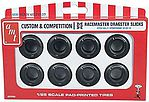 M&H Racemasters Small Slicks Parts Pac -- Plastic Model Car Tires -- 1/25 Scale -- #pp004