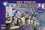 Elves Set #1 Mythical Figures (40) -- Plastic Model Fantasy Figure -- 1/72 Scale -- #72004