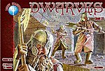 Dwarves Set #2 -- Plastic Model Fantasy Figure -- 1/72 Scale -- #72008