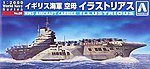 HMS Aircraft Carrier Illustrious -- Plastic Model Military Ship -- 1/2000 Scale -- #009390