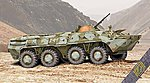 BTR80 Early Soviet Armored Personnel Carrier -- Plastic Model Military Vehicle Kit -- 1/72 -- #72171
