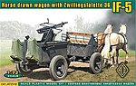 IF5 Type 36 Horse Drawn Wagon -- Plastic Model Personnel Carrier Kit -- 1/72 Scale -- #72510