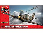 Hawker Hurricane Mk I Aircraft -- Plastic Model Airplane Kit -- 1/72 Scale -- #1010